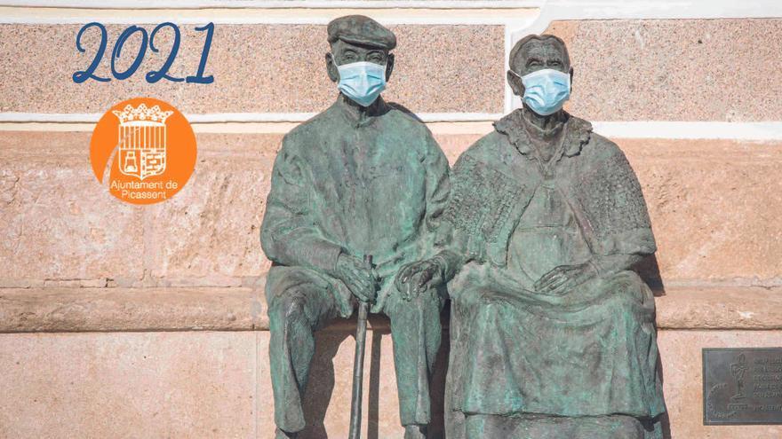 Picassent edita un calendario en homenaje al voluntariado Covid19