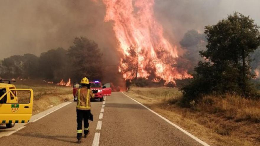 Incendi a la Conca de Barberà i a l'Anoia
