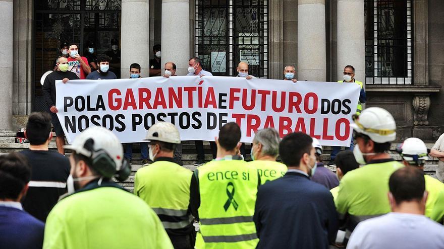 """Ence explica a los trabajadores que """"agotará la vía judicial"""" y """"no contempla"""" otra fórmula"""