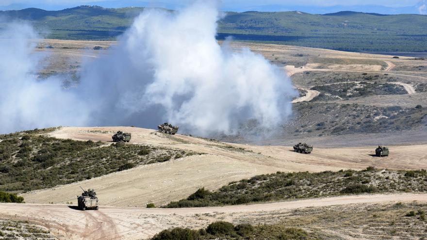 Un soldado resulta herido en unas maniobras militares en San Gregorio