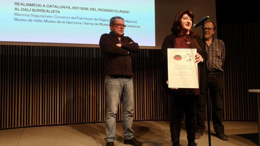 Mariona Seguranyes obté el premi de l'Associació Catalana de Crítics d'Art