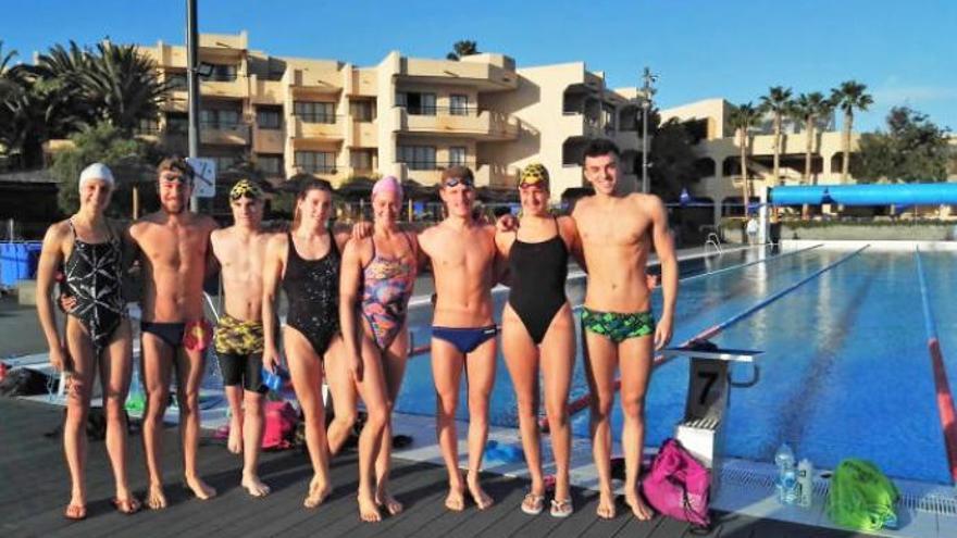 La nadadora Mireia Belmonte se entrena en Canarias para Tokio 2020
