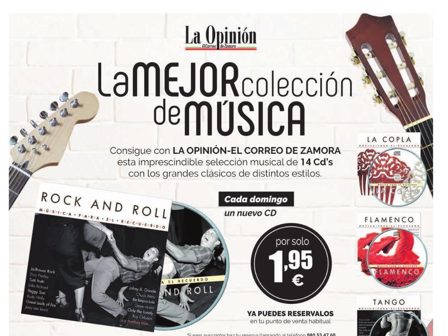 Promoción de CD de música 2020