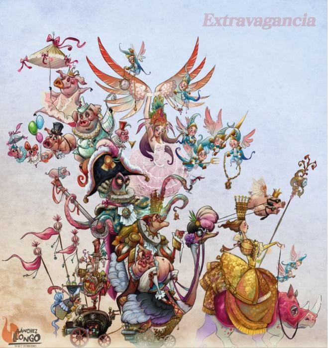 """Exposición-Micer Mascó. """"Extravagancia"""", de David Sánchez."""