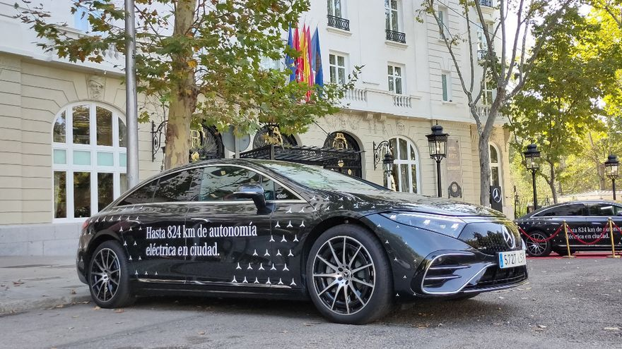 Mercedes-Benz EQS: Primera toma de contacto con el 'Clase S' eléctrico