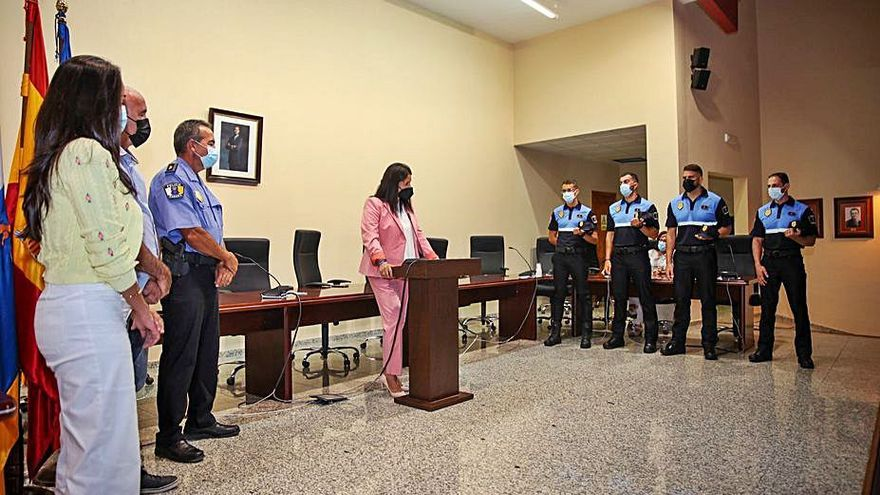 La Policía Local aumenta su personal con la incorporación de cuatro nuevos agentes
