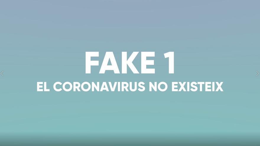El Govern desmiente los principales argumentos falsos sobre la Covid-19