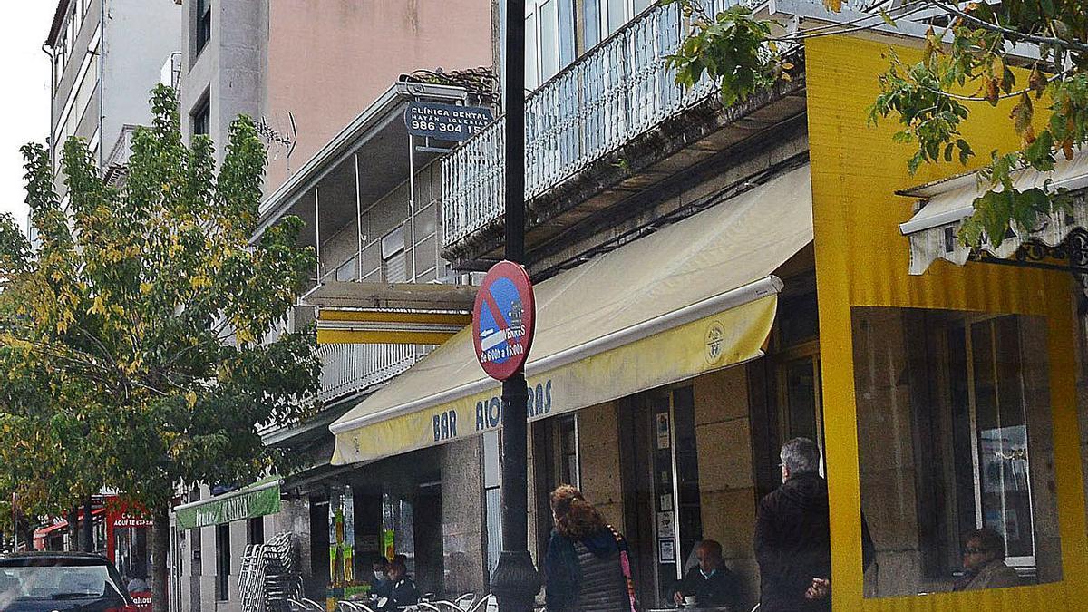 Un local de hostelería en Cangas.     // GONZALO NÚÑEZ