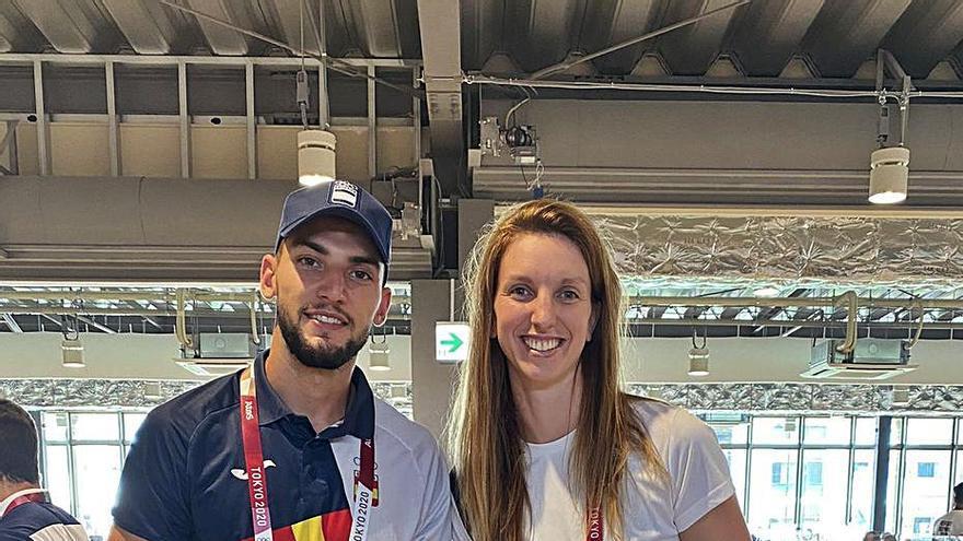 Laura Gil se convierte en imprescindible en los Juegos