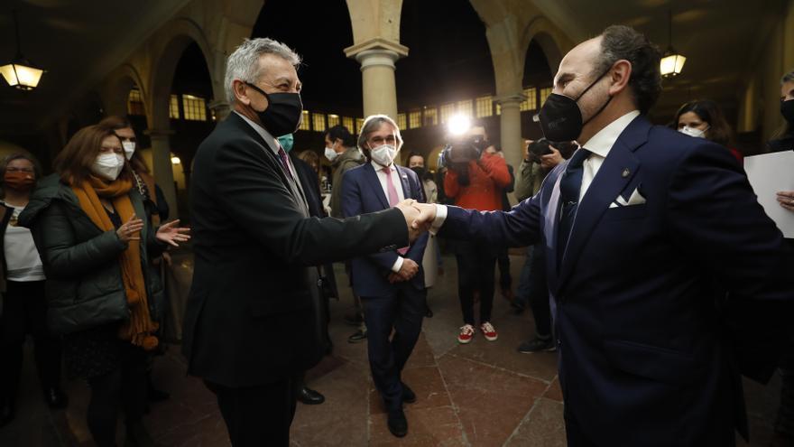 La Universidad de Oviedo proclama de forma definitiva rector a Ignacio Villaverde