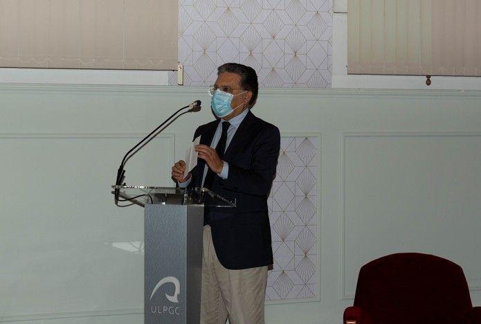 Acto de Reconocimiento al catedrático Antonio Núñez
