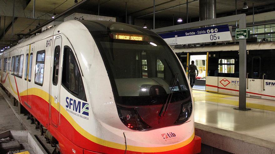 SFM aumentará las frecuencias de los trenes el lunes con motivo de la Fase I