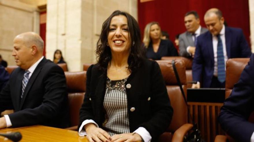 Marta Bosquet, de Ciudadanos, nueva presidenta del Parlamento andaluz gracias a Vox