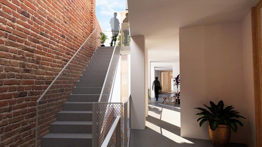 Sallent tindrà el primer habitatge cooperatiu en un edifici municipal