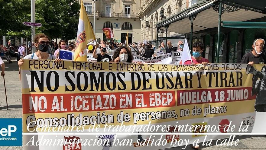 La huelga de interinos afecta sobre todo al medio rural en Aragón