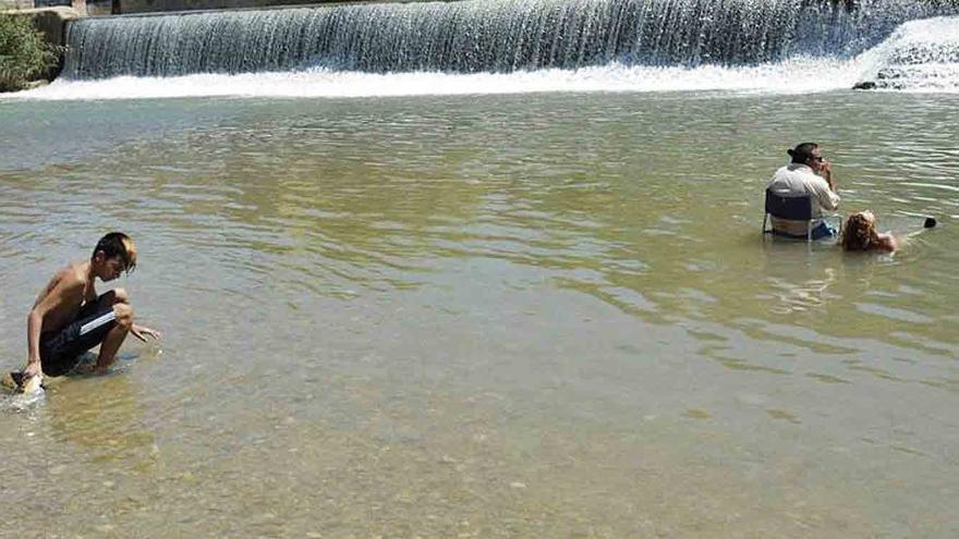 Vigilancia para disfrutar de las playas fluviales de la Región de forma segura este verano