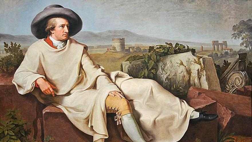 Goethe, la perfección de las piedras rotas