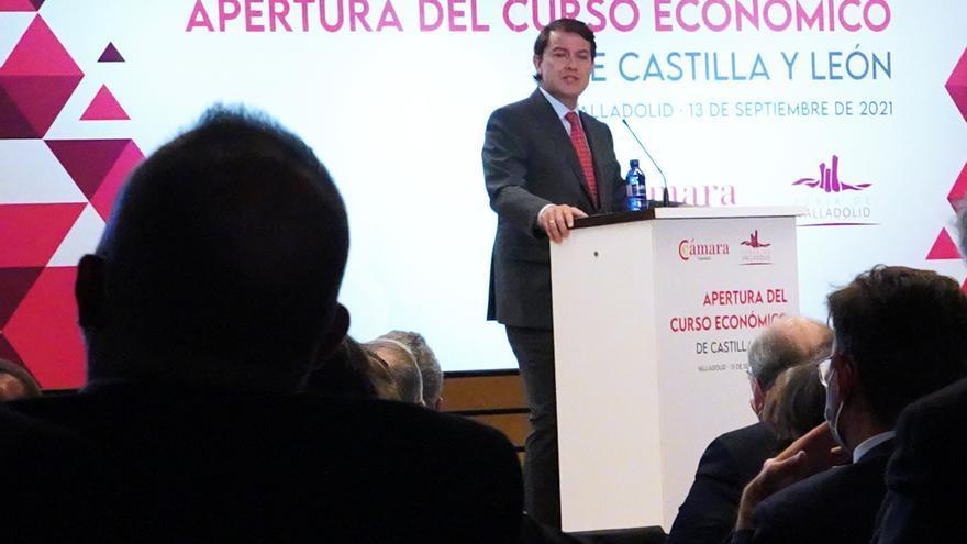 """Mañueco: """"Los presupuestos de Castilla y León son el camino de la recuperación"""""""