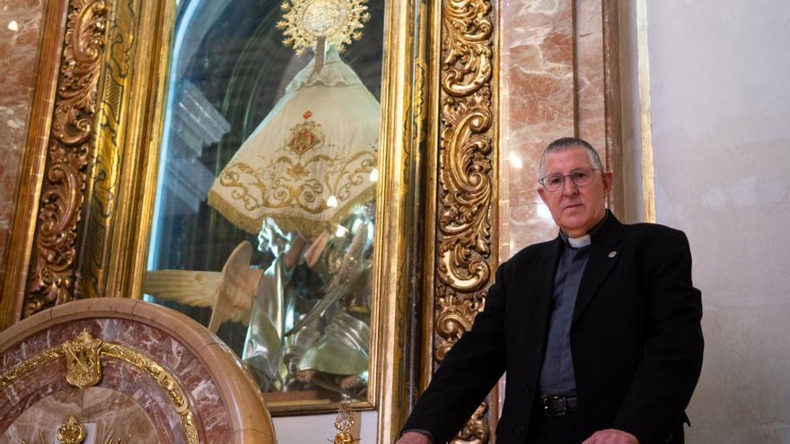 """Joaquín Guillamón, nuevo prior del Lledó: """"A los devotos de la Virgen les pido que la amen más cada día"""""""