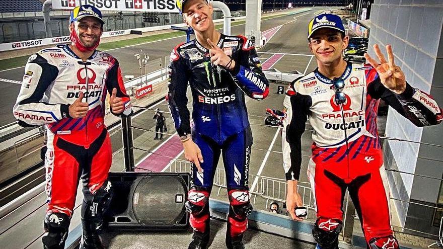 Quartararo pren el triomf a les Ducati al circuit de Losail