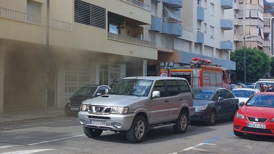 Vídeo del incendio en el local de Ibiza