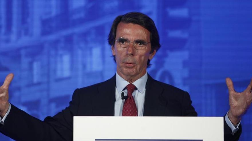 """Aznar carga contra Sánchez: """"Los juegos tácticos tienen que tener un límite"""""""
