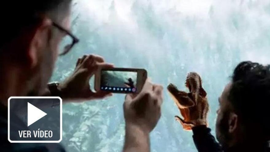 El divertido rodaje del 'Jurassic World 2' de Bayona