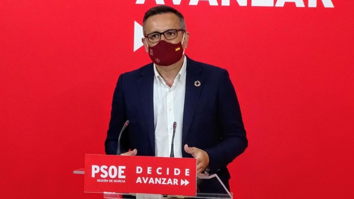 """El PSOE pide al Gobierno regional que dé explicaciones """"ante la falta de gestión"""""""
