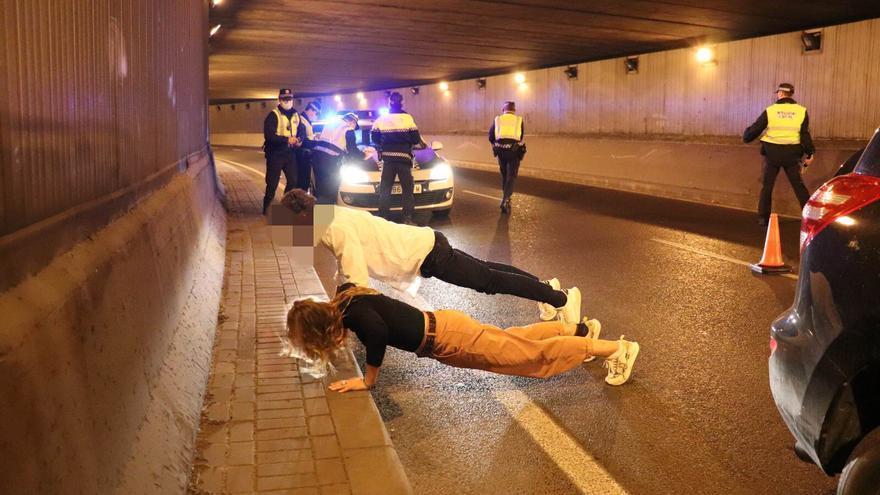 La Policía Local de Alicante impone 445 denuncias en diciembre por incumplir el estado de alarma