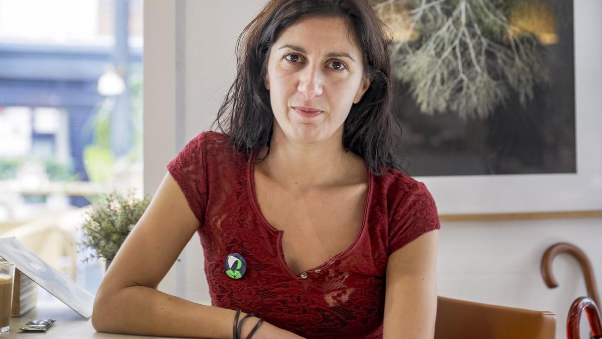 La escritora Lucia Pietrelli.