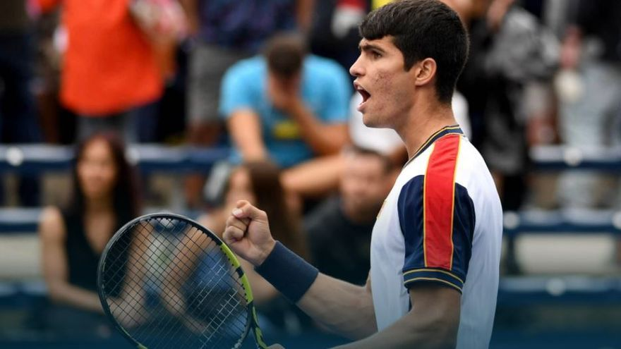 Carlos Alcaraz se mete en la tercera ronda del US Open