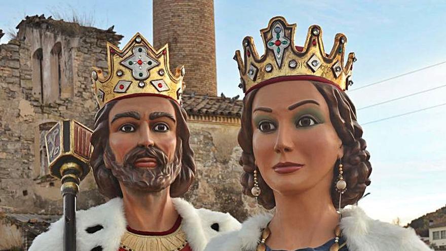 Els Gegants Reis compleixen 40 anys