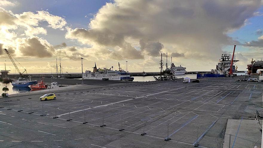 Santa Cruz habilita 650 plazas de aparcamiento en el Puerto