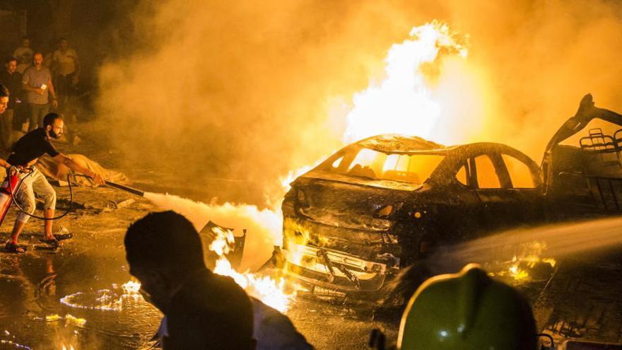Al menos 17 muertos en El Cairo al explotar varios vehículos frente a un hospital