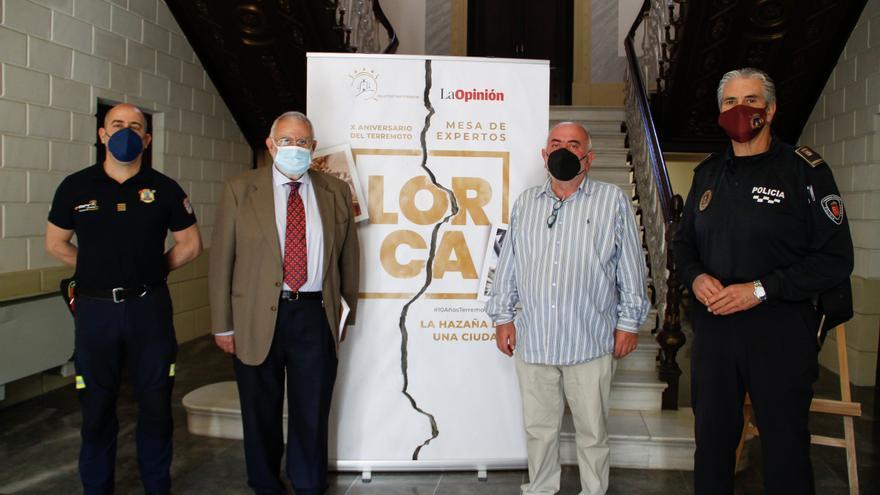 X Aniversario Terremotos de Lorca: Mesa de expertos 'Primeras atenciones, 11 de mayo e 2011'