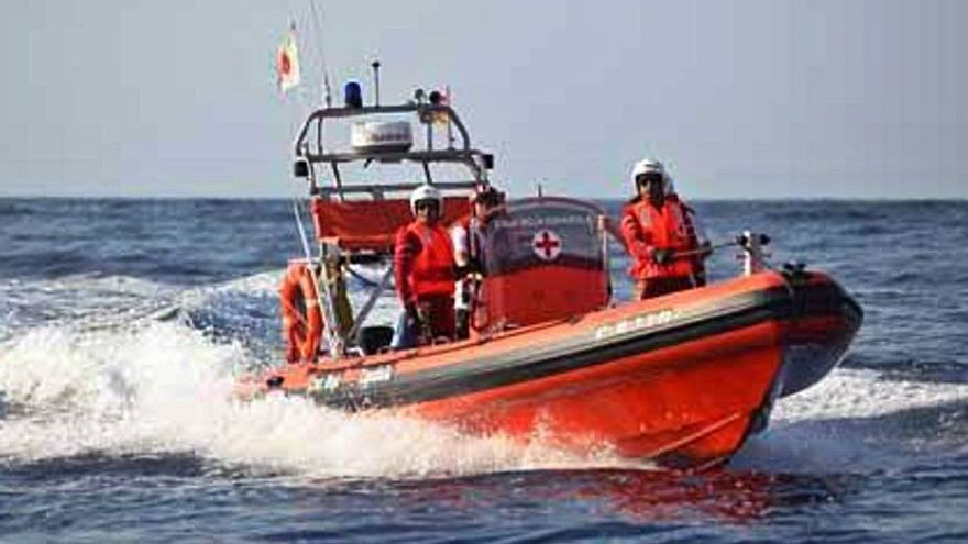 Inoperativas las dos lanchas de Salvamento que gestiona Cruz Roja