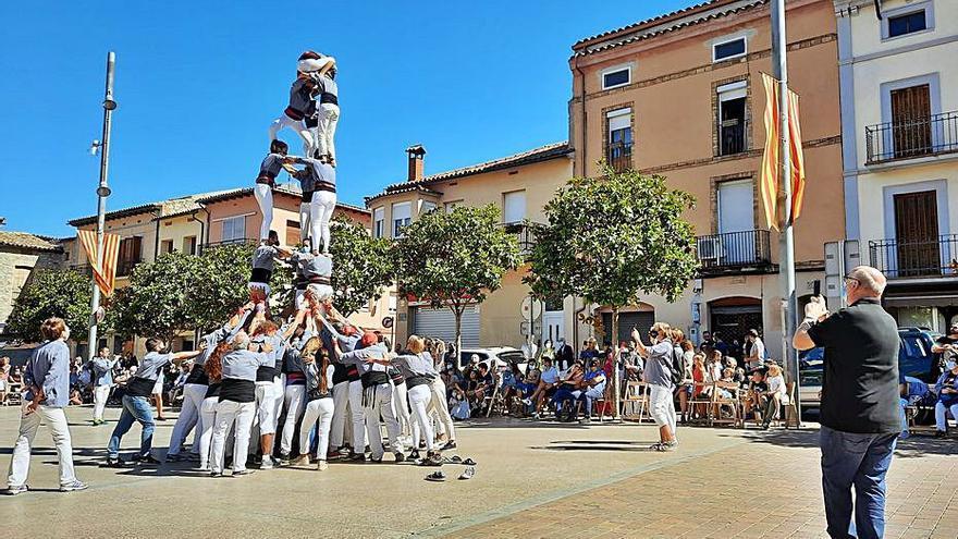 La Festa Major d'Avinyó retorna a la plaça els gegants i els castells