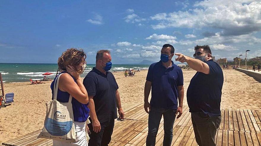 El PP de Valencia ofrece su apoyo a la plataforma de las playas de la Safor