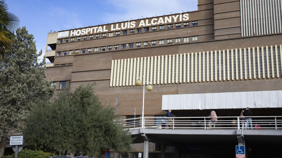 Uno de los heridos ha sido trasladado al Hospital Lluís Alcanyís de Xàtiva
