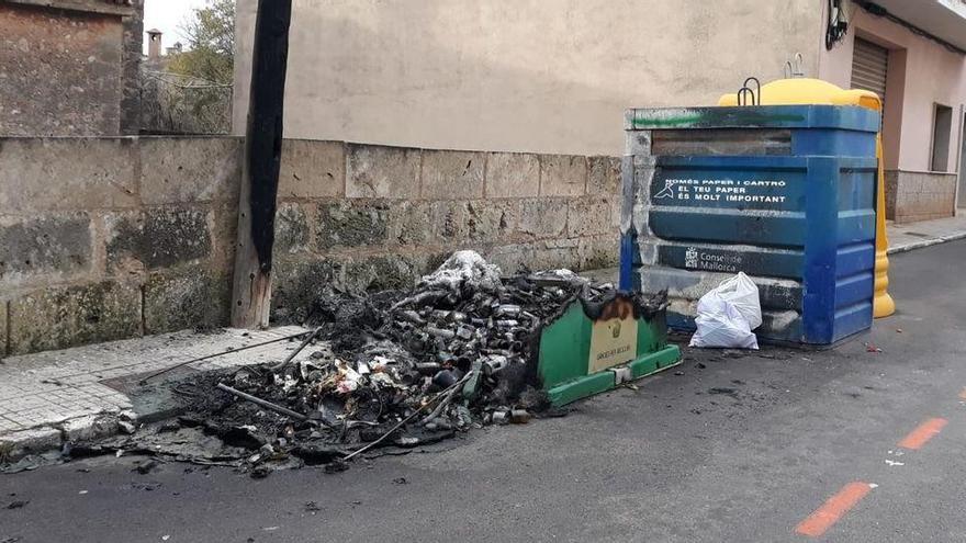 Ortspolizei Marratxí schnappt mutmaßlichen Feuerteufel auf frischer Tat