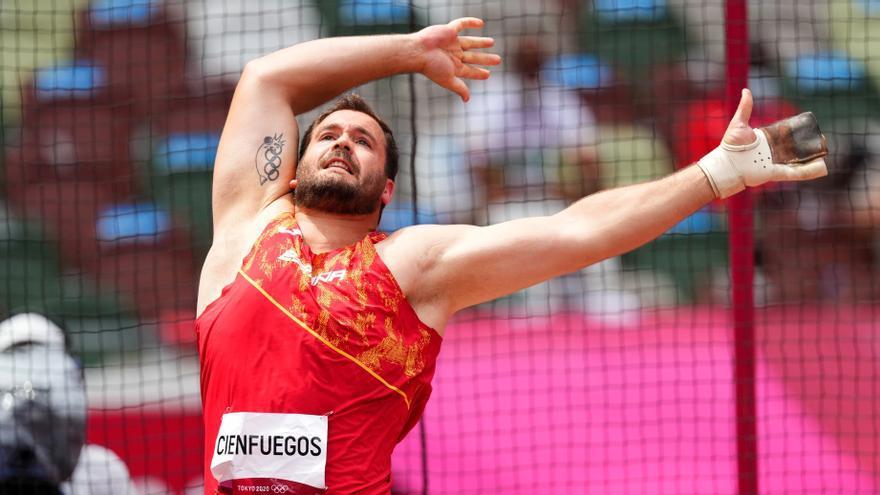 Cienfuegos se convierte en el primer español en llegar a una final olímpica de martillo