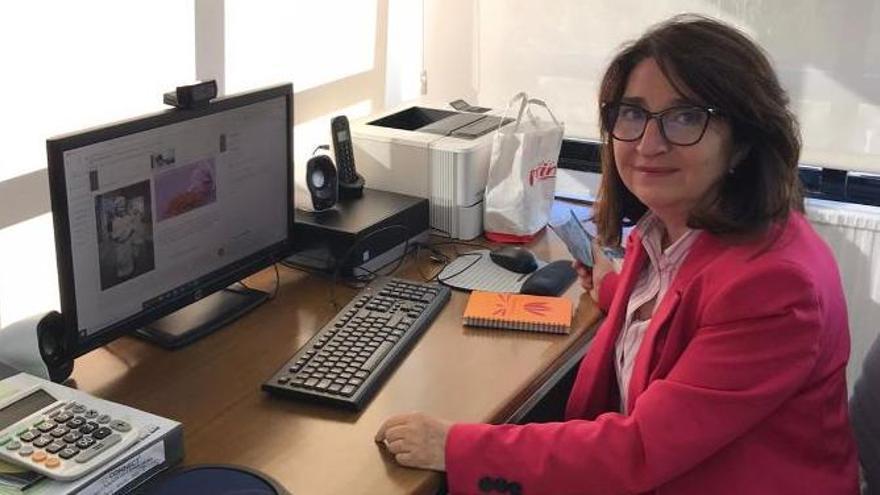 Amparo Navarro, primera mujer que opta a ser rectora de la Universidad de Alicante