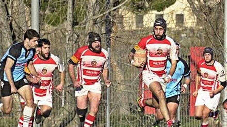 Dues victòries i tres derrotes per als equips del Manresa Rugby Club