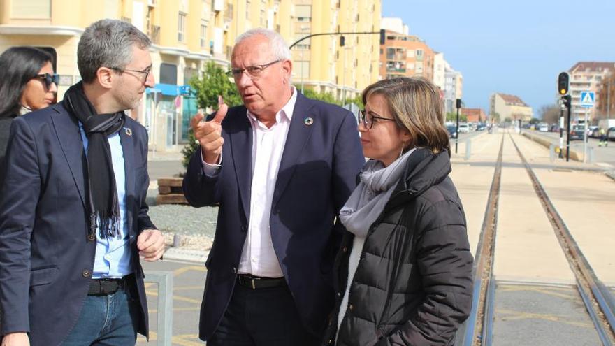 """El conseller Arcadi España asegura que la Marina Alta recuperará el 'trenet' """"a mediados o finales de 2021"""""""