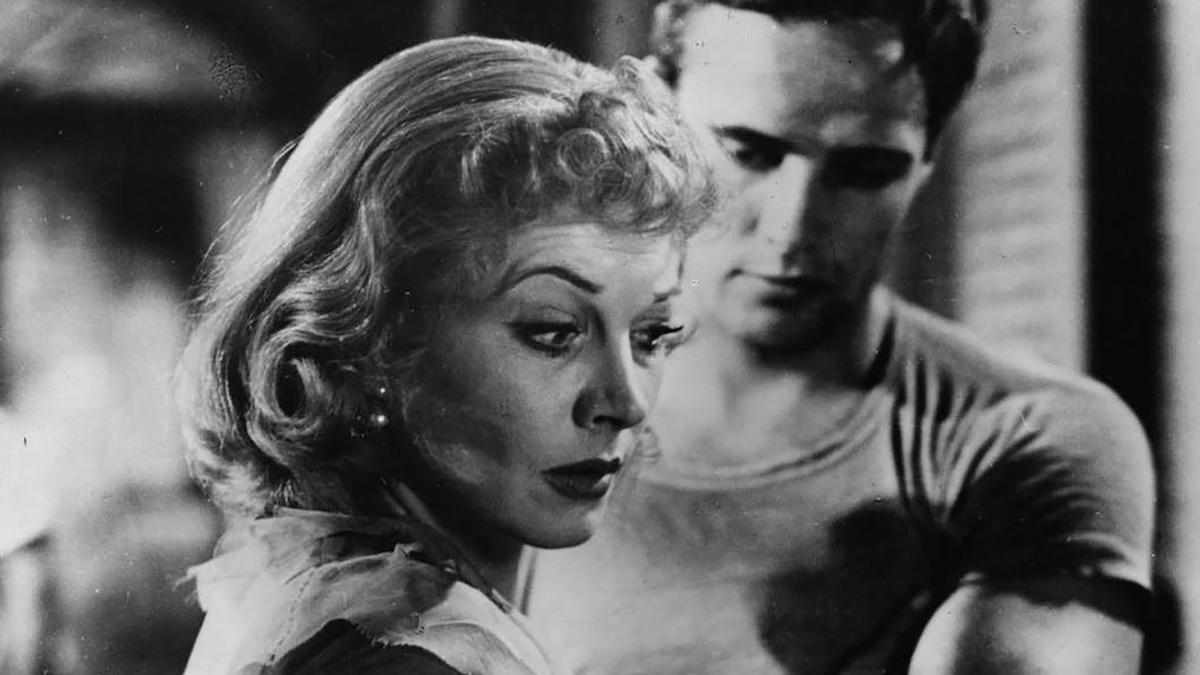 Vivien Leigh, en el papel de Blanche DuBois, en 'Un tranvía llamado deseo'