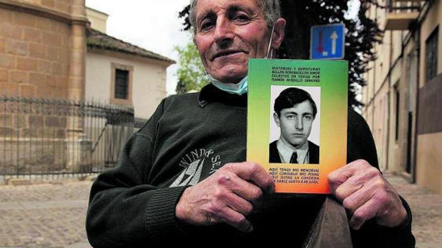 """Un zamorano de 68 años escribe el libro """"A mis cien novias"""", basado todo en hechos reales"""