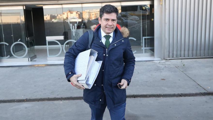 Estepa informará al juzgado de la situación del Córdoba CF cuando fue vendido por González