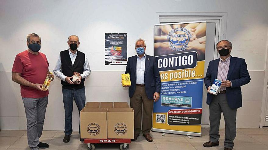 Los establecimientos de Spar Gran Canaria se suman a la Operación Kilo del Banco de Alimentos