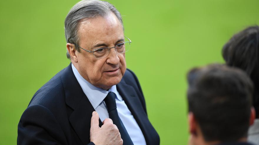 """Florentino Pérez afirma que """"el año que viene"""" habrá """"noticias sobre Mbappé"""""""