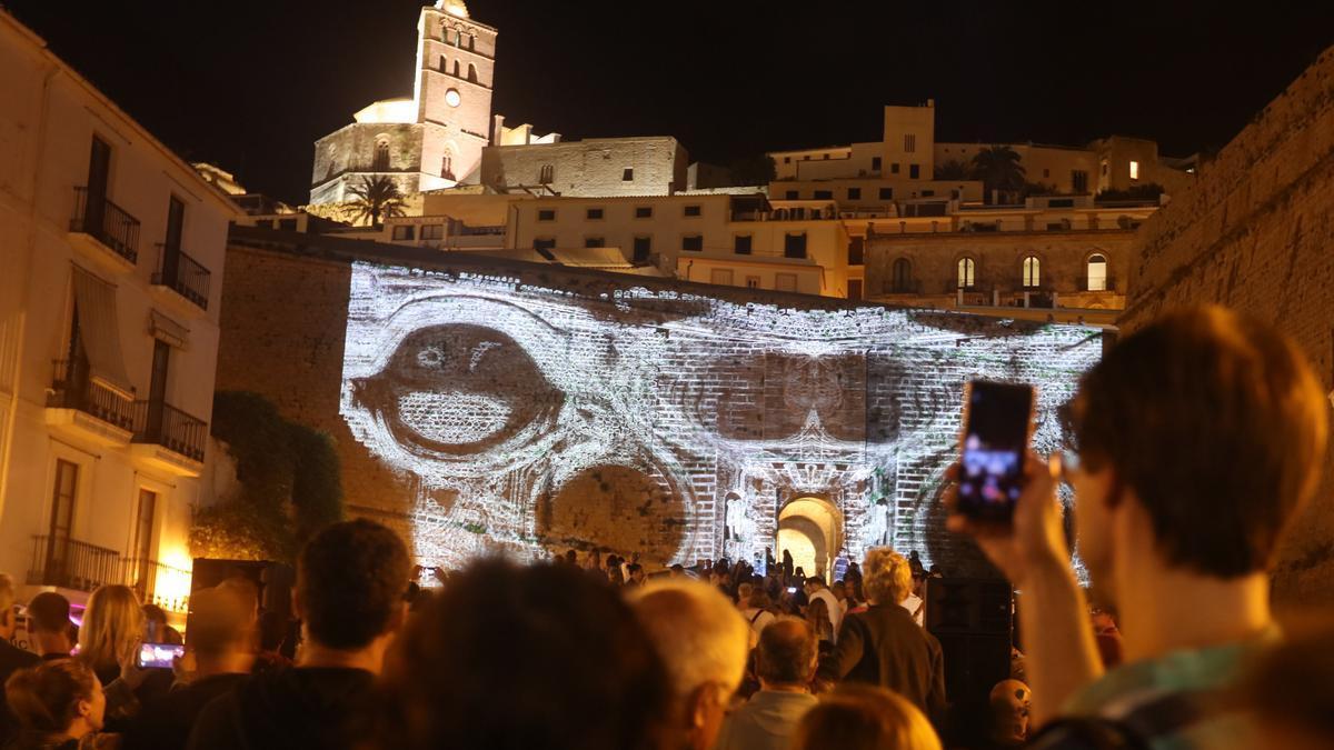 Imagen de archivo del Ibiza Ibiza Light Festival de 2018.
